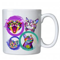 Caneca Tchuska 325ml - Cat